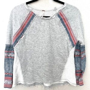 Free People Pullover Sweatshirt